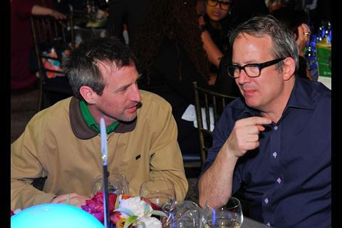 Her director Spike Jonze and Ted Hope.
